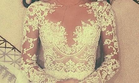 Kendall Jenner's 'wedding' dress