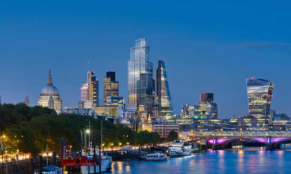 Raising the bar … the proposed 22 Bishopsgate in the London skyline.