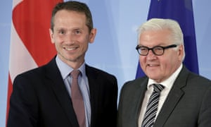 Denmark foreign secretary Kristian Jensen said he discussed the border controls with his German counterpart, Frank-Walter Steinmeier, in Berlin on Tuesday.
