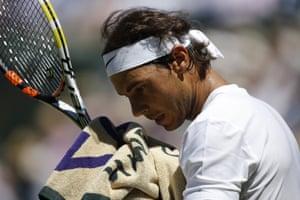 Rafael Nadal, through to the next round.