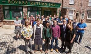 Coronation street crew