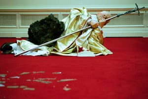 The Ninth Hour by Maurizio Cattelan.