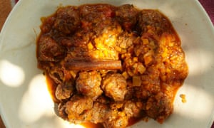 Yotam Ottolenghi's chorizo meatballs in tomato sauce: 'Hearty and flavourful.'