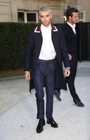 Men 39 S Fashion How Zayn Malik Graduated From Style School Fashion The Guardian