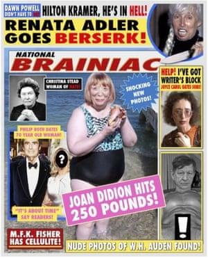 John Waters's spoof gossip mag National Brainiac.
