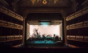 The production of William Tell by director Damiano Michieletto at the Royal Opera House.