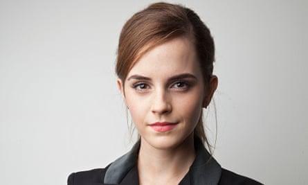 Emma Watson at the HeForShe launch