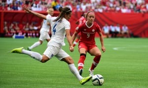 Fara Williams puts her right foot to good use
