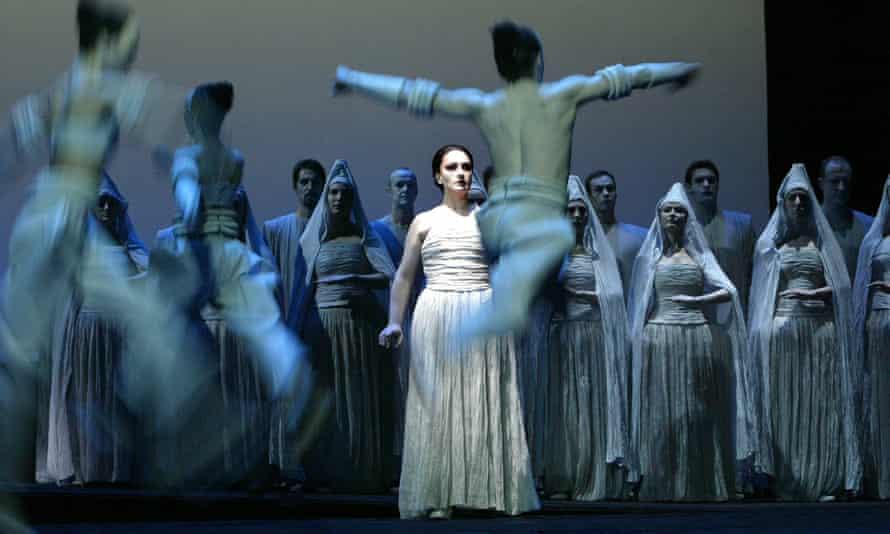 Aida as seen by Robert Wilson.