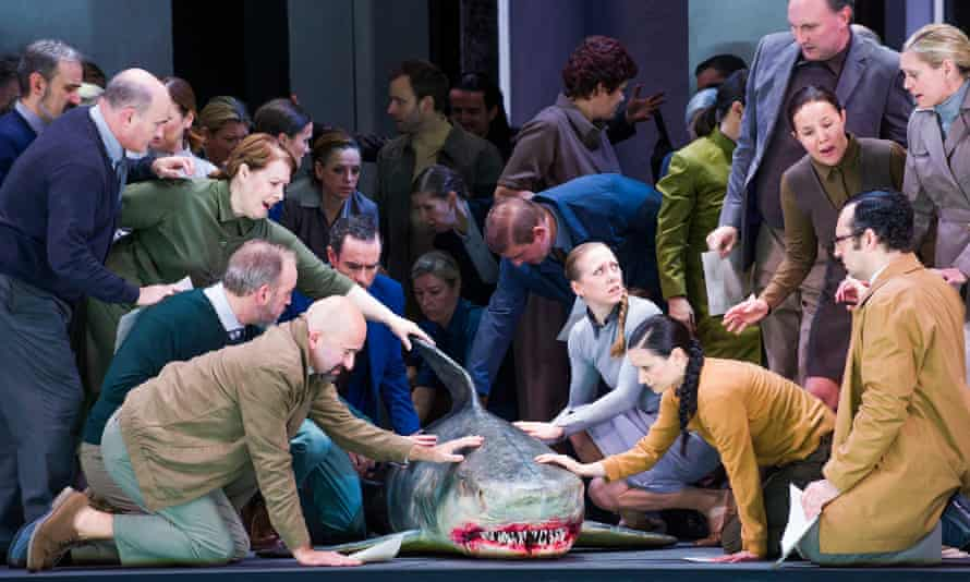 A scene from Idomeneo by Mozart.