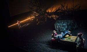 Gore blimey: Guillaume Tell hits Covent Garden.