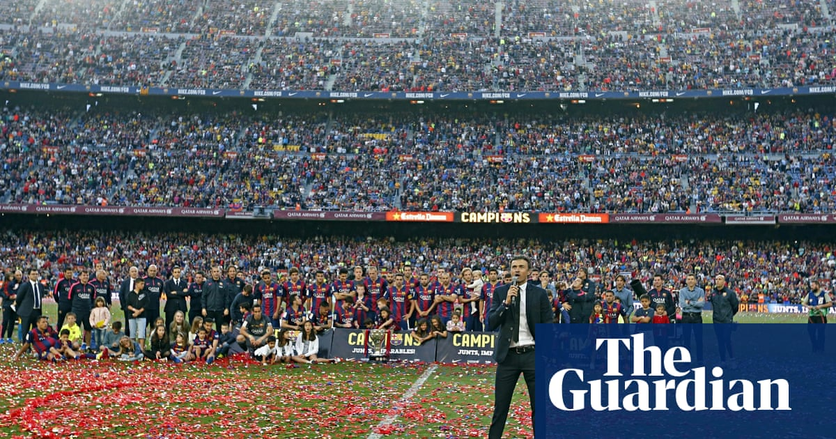 How Barcelona s Luis Enrique proved everyone wrong – and ended the hunting  season 002cf281298