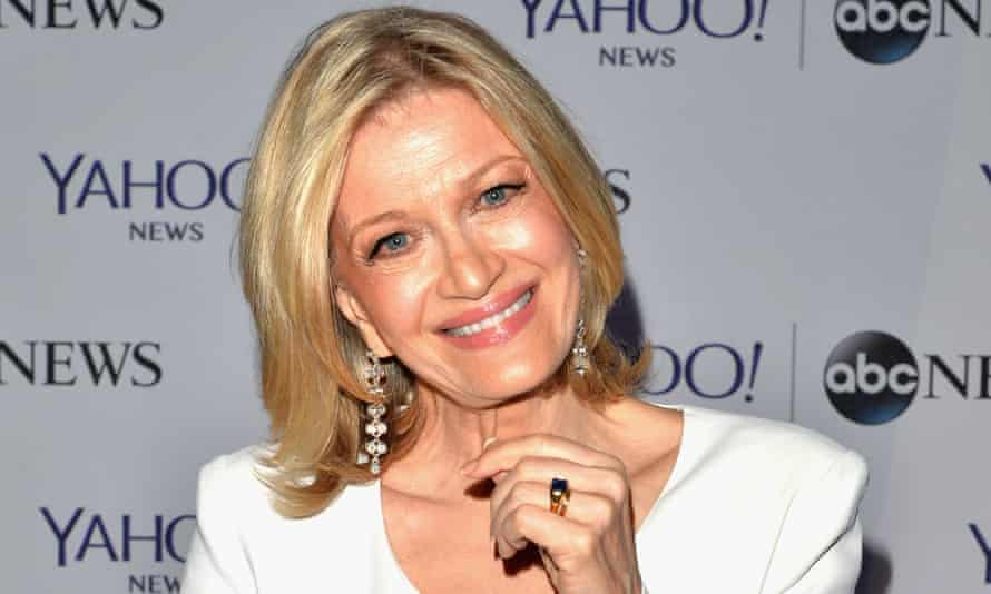 Diane Sawyer: stepped down as the anchor of ABC World News last year