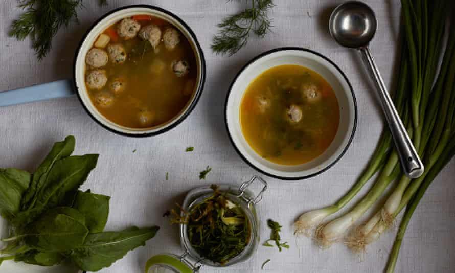 Olia Hercules frikadelki soup