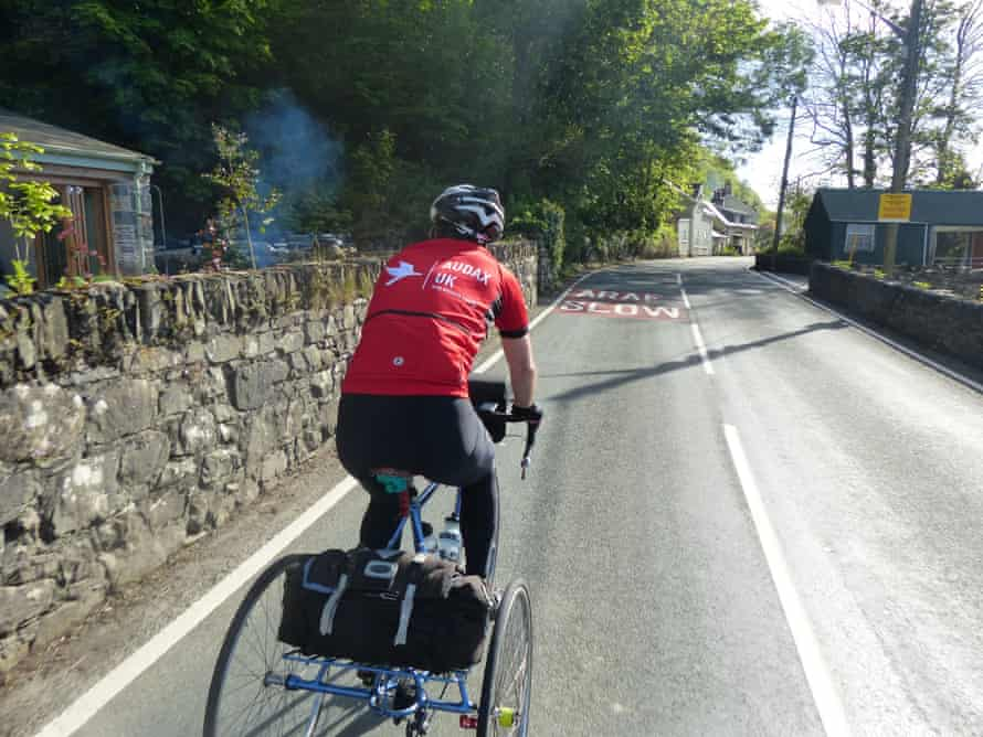 Audax rides in Wales