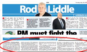 The Rod Liddle column and the Sun's apology