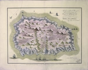 The Island and Forts of St Helena