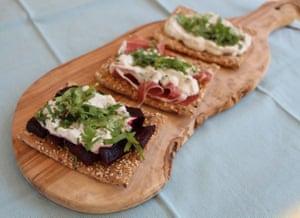 Fadime's burnt-onion dip is great on toast or crispbreads...