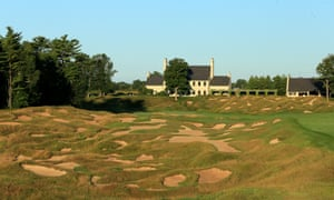 All 520 yards of the par-four 18th at Whistling Straits.