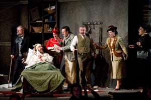 Puccini's Gianni Schicchi at Holland Park, London.