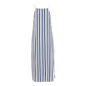 50 best summer dresses - strappy midi dress with blue and white stripes by Topshop