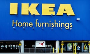 An exterior view of an Ikea store in Brooklyn, New York, USA, 26 June 2014.