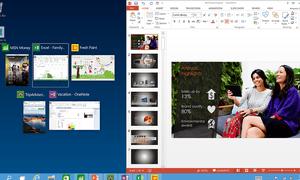 Windows 10 snap improvements