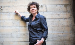 Jeanette Winterson before Guardian Live event: Between the Lines. 3 June 2015.