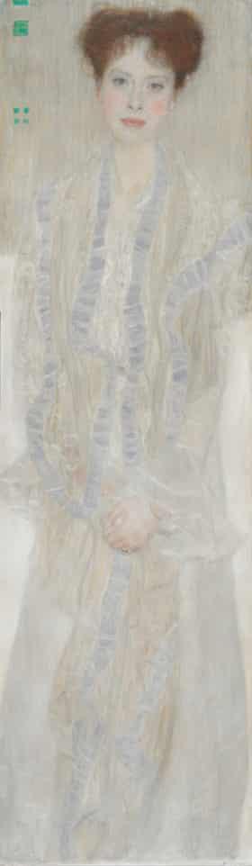 Portrait of Gertrud Loew by Gustav Klimt, 1902.