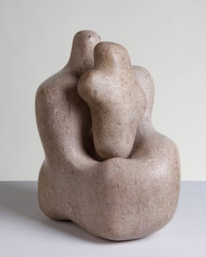 Hepworth's Mother and Child (1934), made of pink ancaster stone310 x 260 x 220 mmThe Hepworth Wakefield