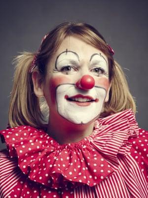 Helen Champion as Zenden the Clown