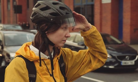 The 'Heads-Up' helmet designed by Future Cities Catapult.