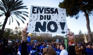 Ibiza says no