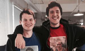 The new Songkick's co-CEOs Ian Hogarth and Matt Jones.