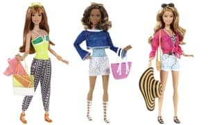 Barbie dolls flat shoes