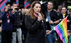 Greens senator Sarah Hanson-Young was allegedly codenamed 'raven'