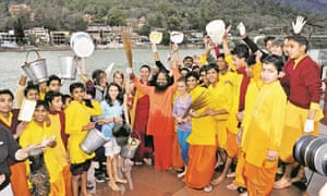Non-profit group GAP is helping to stem the flow of pollution into the Ganges through conferences, summits and even yoga festivals.
