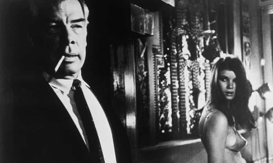Lee Marvin in Point Blank.