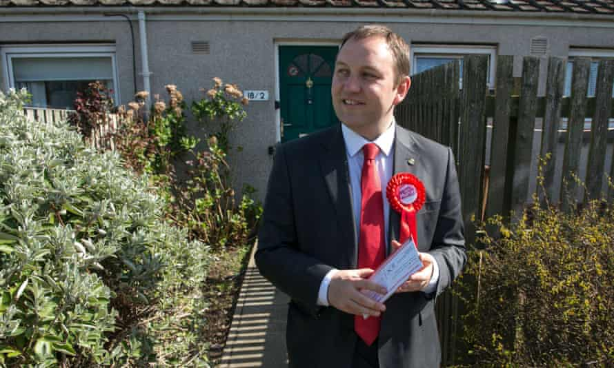 Labour's only Scottish MP, Ian Murray for Edinburgh South.