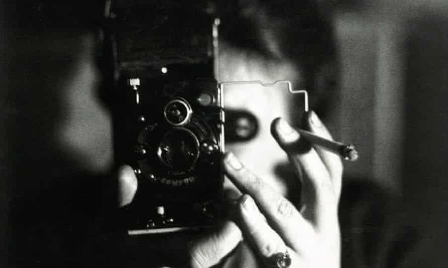 Self-portrait with Icarette, circa 1925.