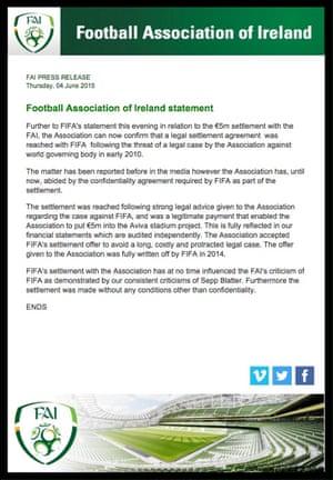 FAI statement