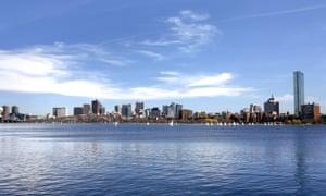 The Charles river, Boston, USA.