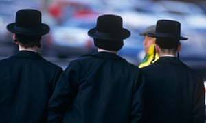 Orthodox Jewish men in London