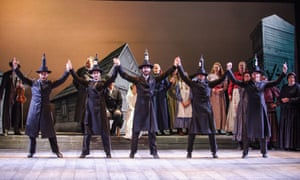 A scene from Fiddler on the Roof at Grange Park Opera.