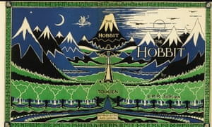 The first edition of The Hobbit from 1937, inscribed in Old English by JRR Tolkien as a gift to one of his first students at Leeds University.