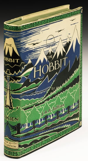 The Hobbit first edition from 1937.