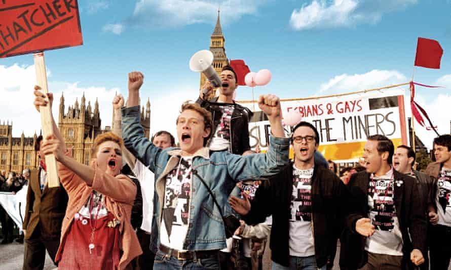 Still from film Pride