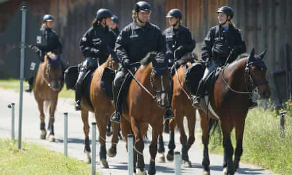 More than 17,000 police are charged with protecting the world leaders.