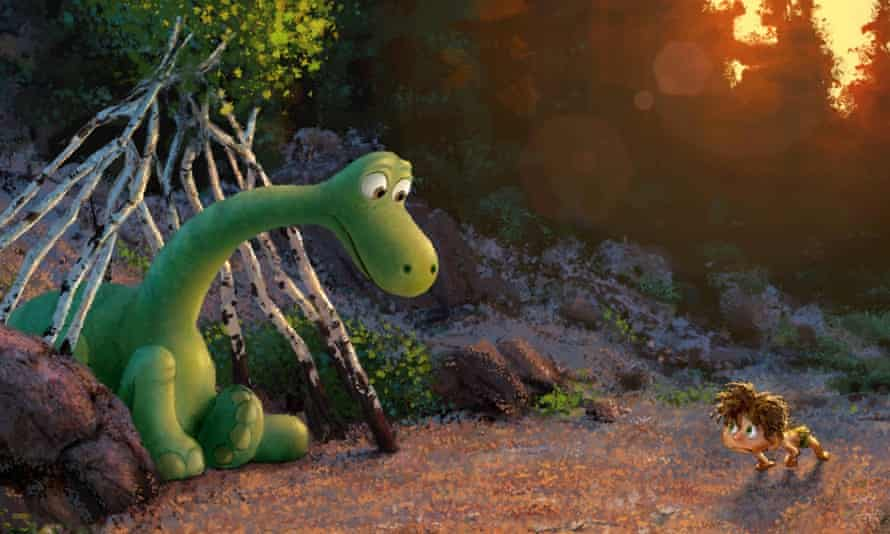 Early concept art from Disney-Pixar's The Good Dinosaur