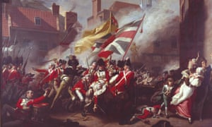 John Singleton Copley's The Death of Major Peirson, 1781, part of Tate Britain's Fighting History exhibition.